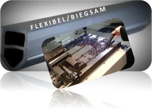 T-Nuten Abdeckleiste flexibel/biegsam